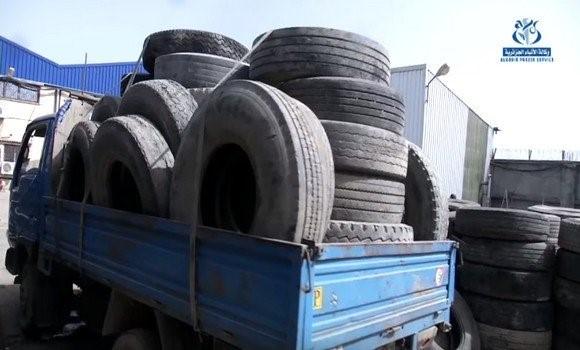 Réalisation prochainement d'une usine de valorisation de pneus usagés à Oran